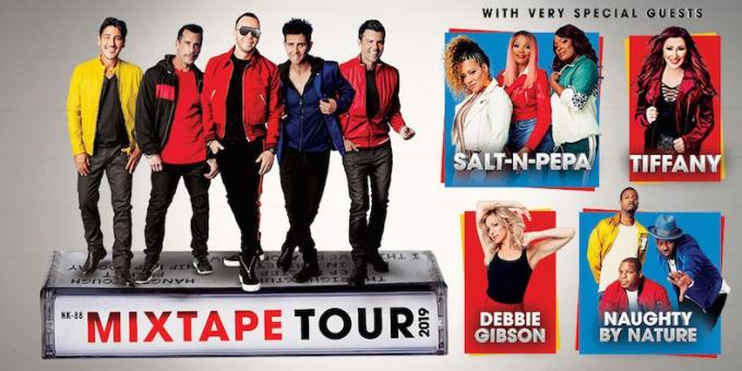 New Kids On The Block, Salt N Pepa & Naughty by Nature at Don Haskins Center