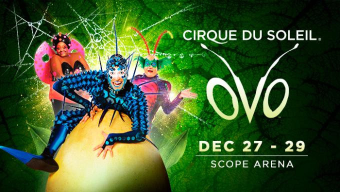Cirque Du Soleil - Ovo at Don Haskins Center