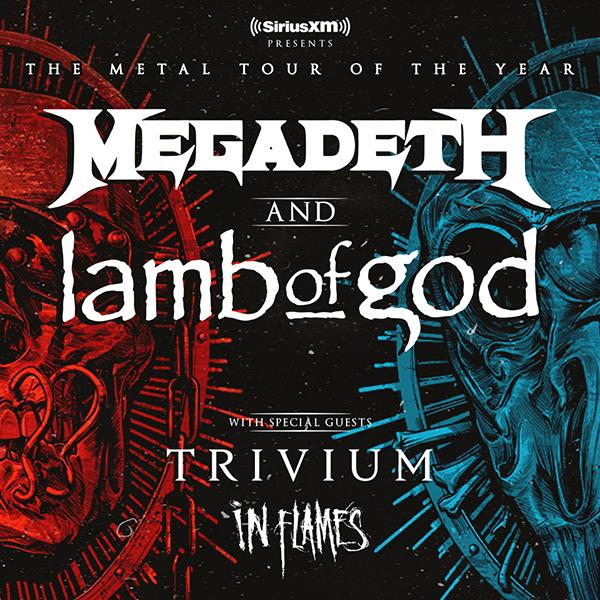 Megadeth & Lamb of God at Don Haskins Center