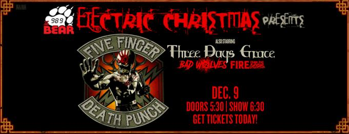 Five Finger Death Punch, Three Days Grace & Bad Wolves at Don Haskins Center