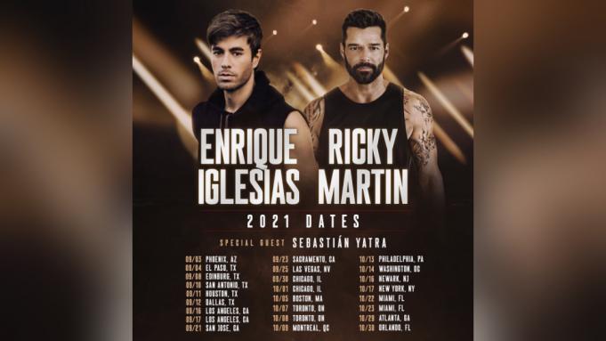 Enrique Iglesias & Ricky Martin at Don Haskins Center